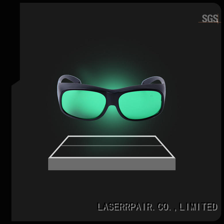 LASERRPAIR co2 laser safety glasses from China for industry